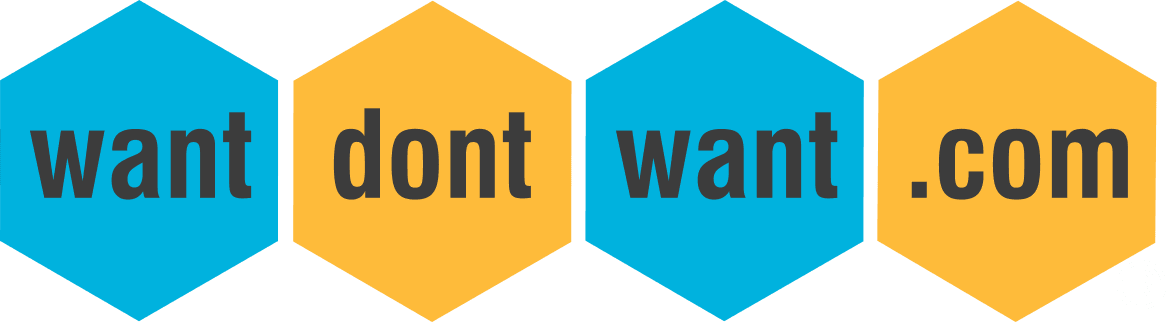 Want Dont Want Logo